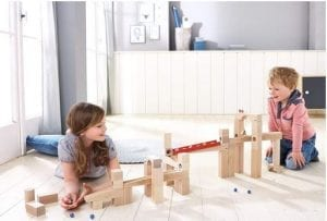 Montessori Toys - Haba Ball Track Wooden Marble Set