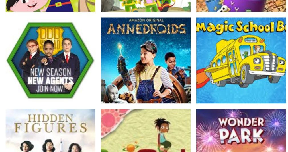 9 Great STEM Inspired Kids Shows