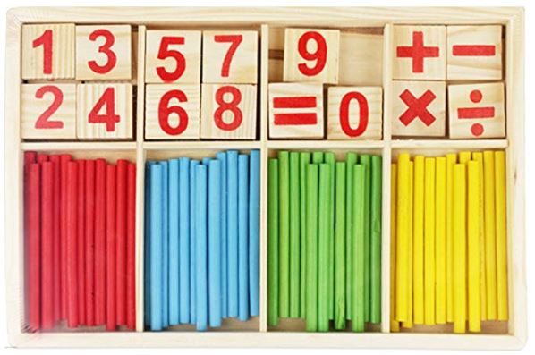 Montessori Wooden Number Sticks